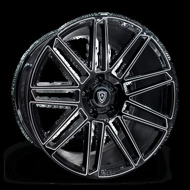 M3767 Wheel Black Milled