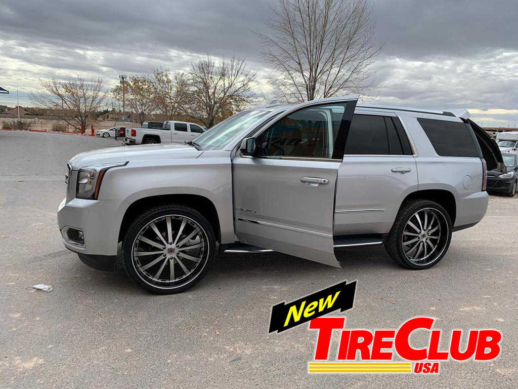 Tire Club White Yukon