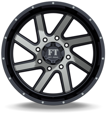 FT1 Full Throtle Wheel Black Polish