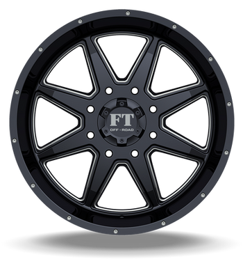 FT2 Full Throtle Wheel Black Milled
