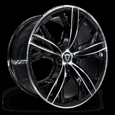 C5189 Wheel Black Polish