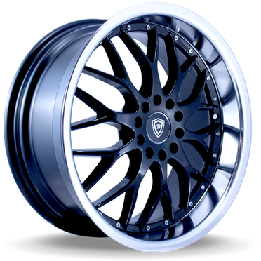 W359 White Diamond Wheel (Black/Polish Lip)