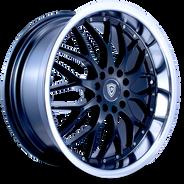 W359 White Diamond Wheel (Black/Polish Lip)