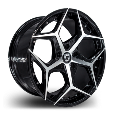 C5194 Wheel Black Polish
