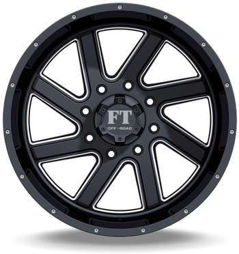 FT1 Full Throtle Wheel Black Milled