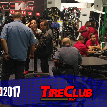 Tire Club at The SEMA Show 2017