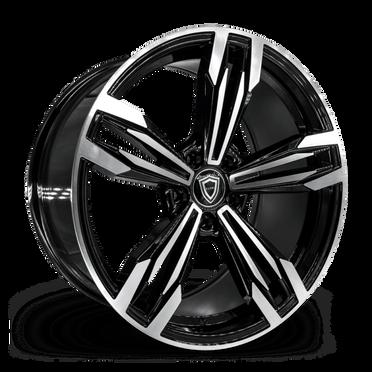 C5111 Wheel Black Polish