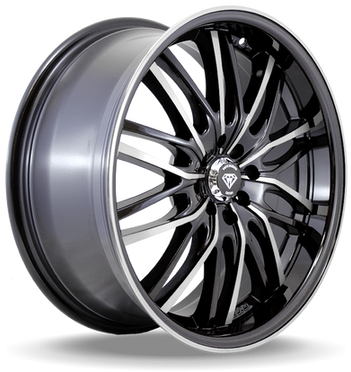 W3108 White Diamond Wheel (Polish Face/Black)