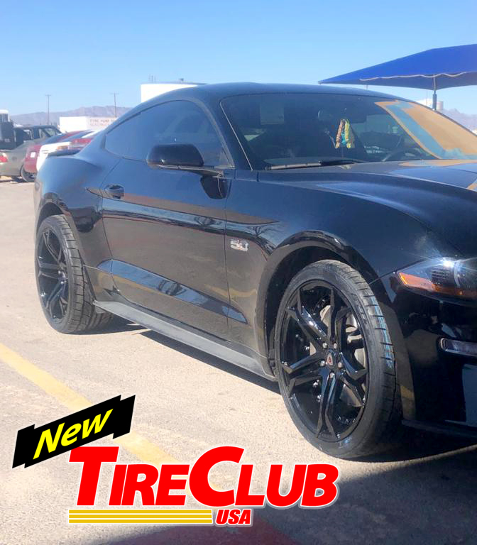 Tire Club Mustang