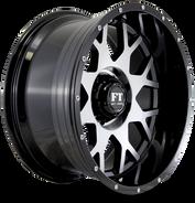 FT0151 Full Throtle Wheel Black Milled