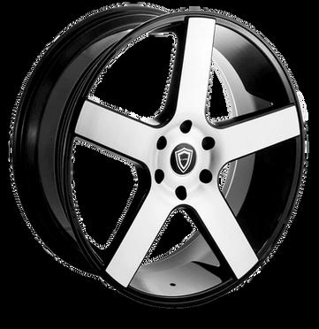 C5288 Wheel Black Polish
