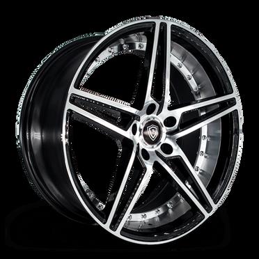 M3258 Wheel Black Polish