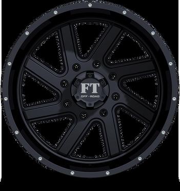 FT1 Full Throtle Wheel Black