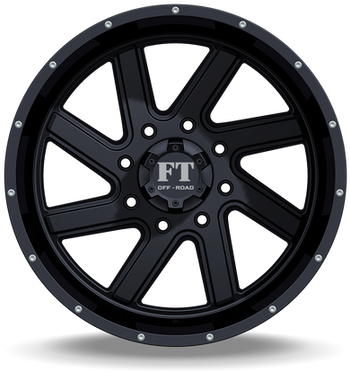FT1 Full Throtle Wheel Black