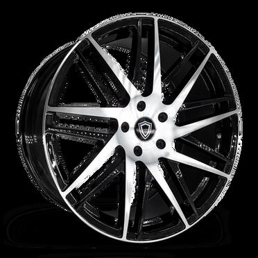 C0103 Wheel Black Polish