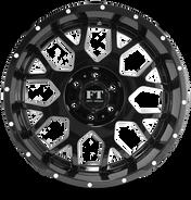 FT0151 Full Throtle Wheel Black