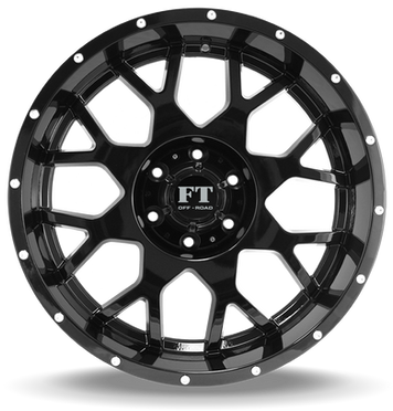 FT0151 Full Throtle Wheel Black