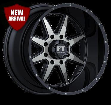 FT2 Full Throtle Wheel Black Polish