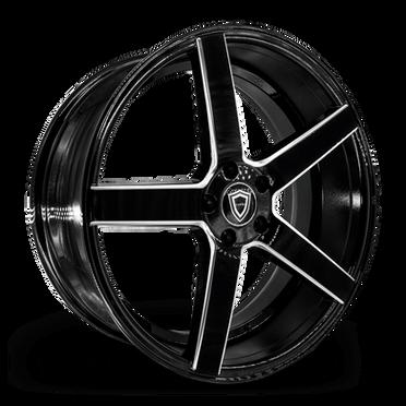 C5178 Wheel Black Milled