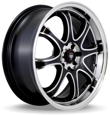 W359 White Diamond Wheel (Polish face/black)