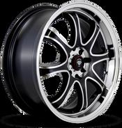 W359 White Diamond Wheel (Polish face/black)