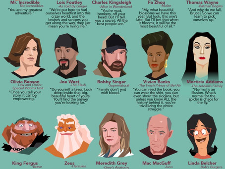50 Inspirational Quotes from Fictional Parents and Guardians