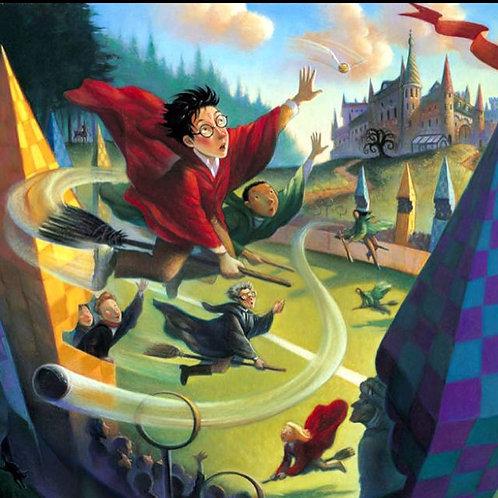 Harry Potter Spells and Art