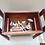 Thumbnail: Stylish Mid Century Teak Sewing/Makeup Box