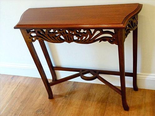 Mahogany Carved Hall Table