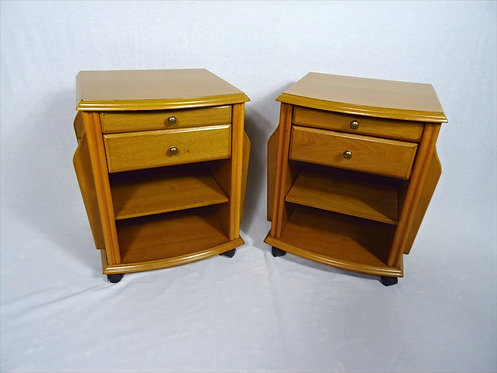Pair of Mid Century Bedside Cabinets/End Tables