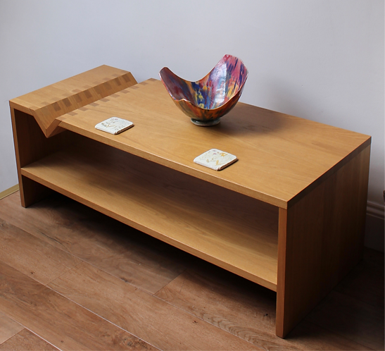 Vintage Solid Oak Coffee Table, Sir Terence Conran Iconic Design