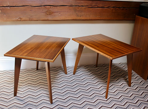 A Pair of Morris of Glasgow Mid Century Side Tables