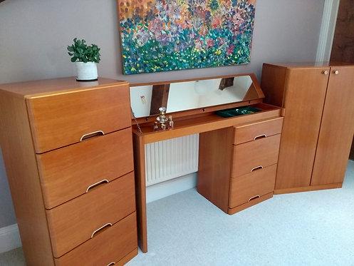 Vintage Hulsta Designer Bedroom/Office Set