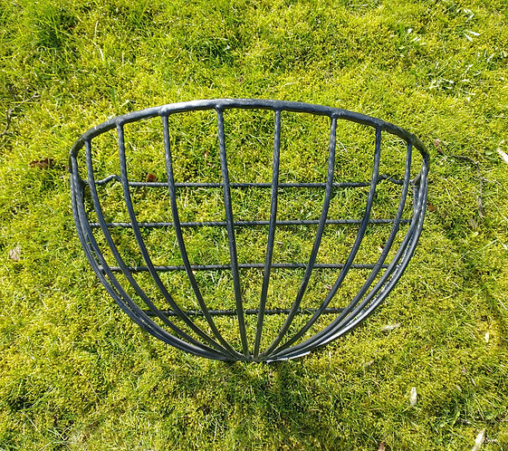 Vintage Large Cast Iron Wall Planter/Hay Rack