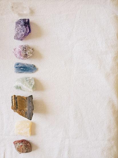 Chakra Healing Crystal Kit
