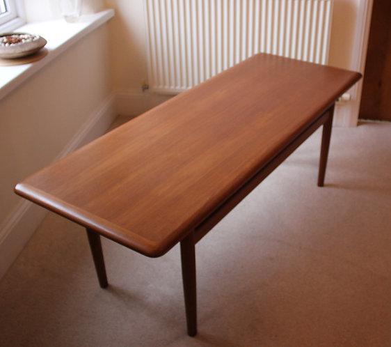 Mid Century Jason of Denmark Teak Coffee Table