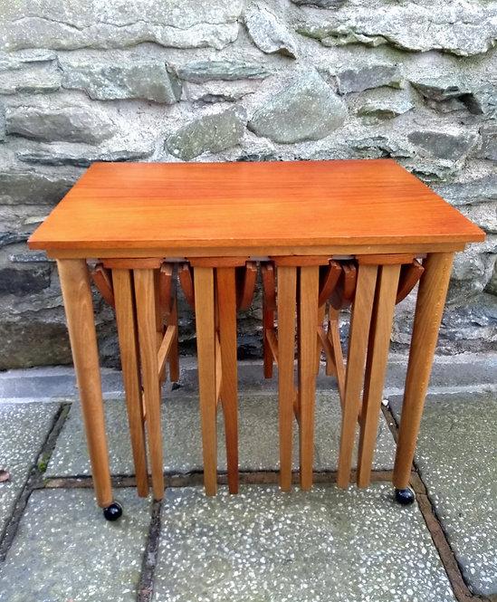 Poul Hundevad Nest of Tables for Novy Domov