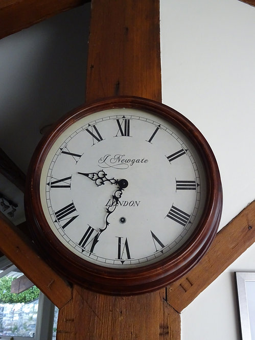 Large Vintage Newgate of London Reproduction Station Wall Clock