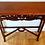 Thumbnail: Mahogany Carved Hall Table