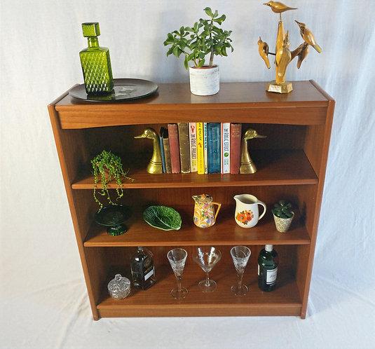 Mid-century G Plan Style Teak Floorstanding Bookcase