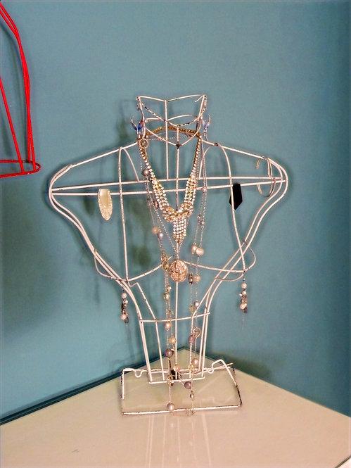Vintage Wire Shop Display Female Mannequin (C)