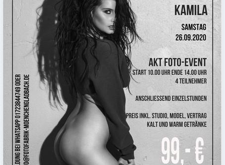 Samstag 26.09. mit Kamila