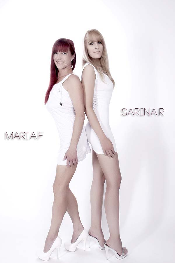 Maria und Sarina