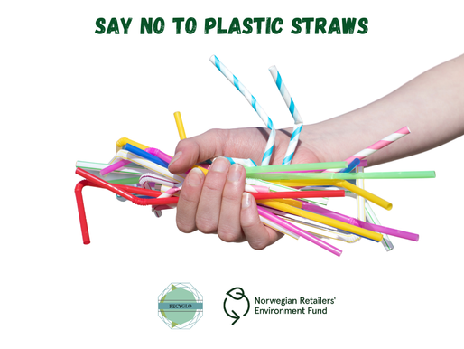 Let's talk about plastic straws