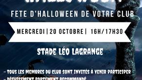 Fête d'Halloween 20 Octobre 2021