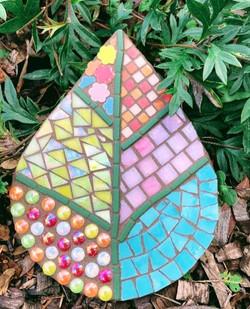 mosaic leaf