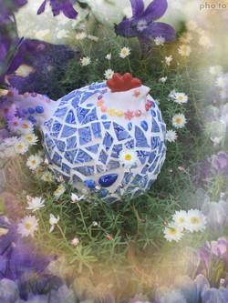mosaic chook
