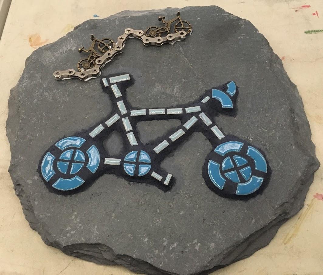 mosaic bike