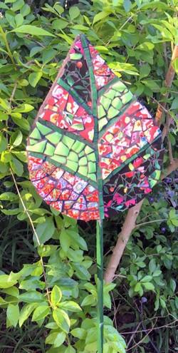Mosaic leaf shape