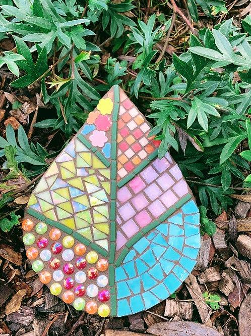 Leaf shape template